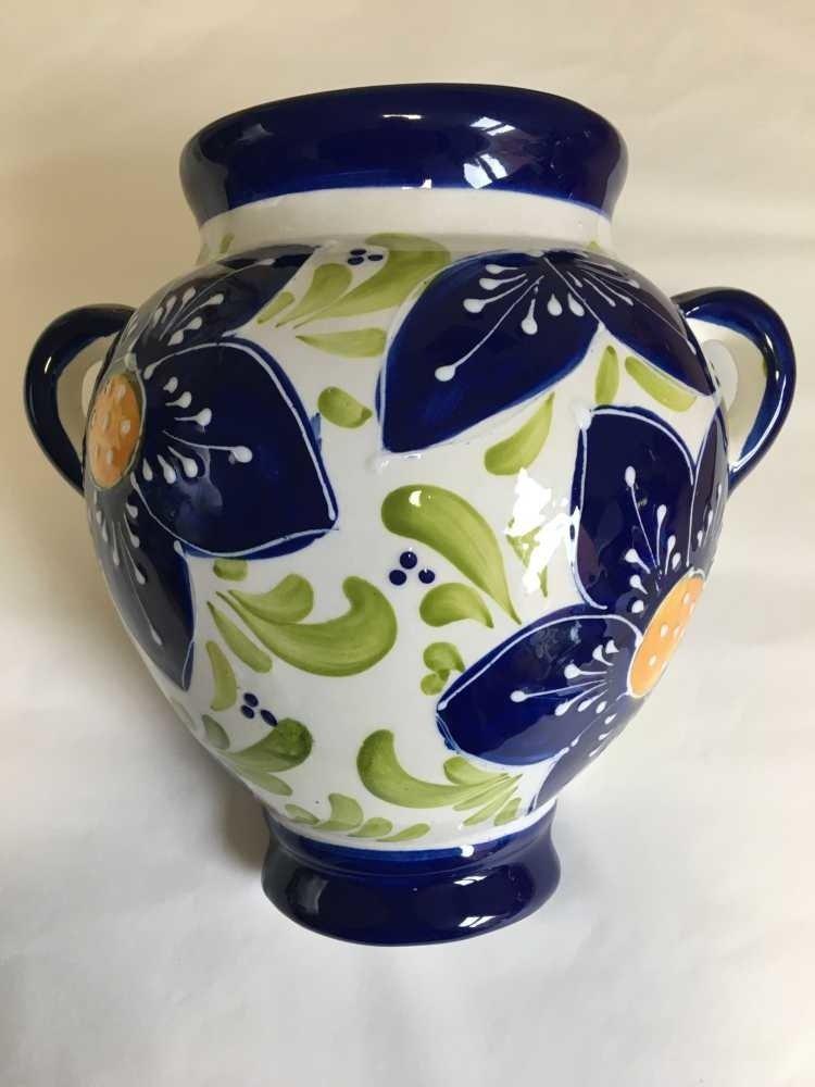 Hanging Flower Pot Azul