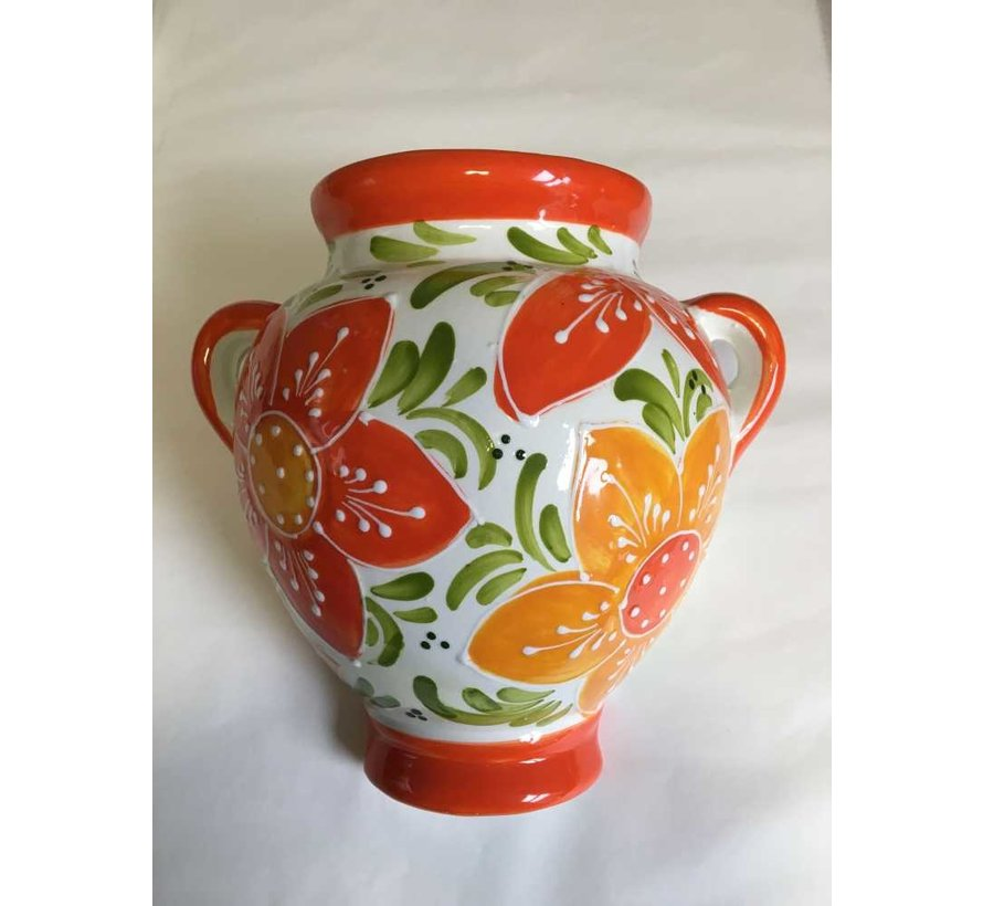 Hangpot Flor Naranja