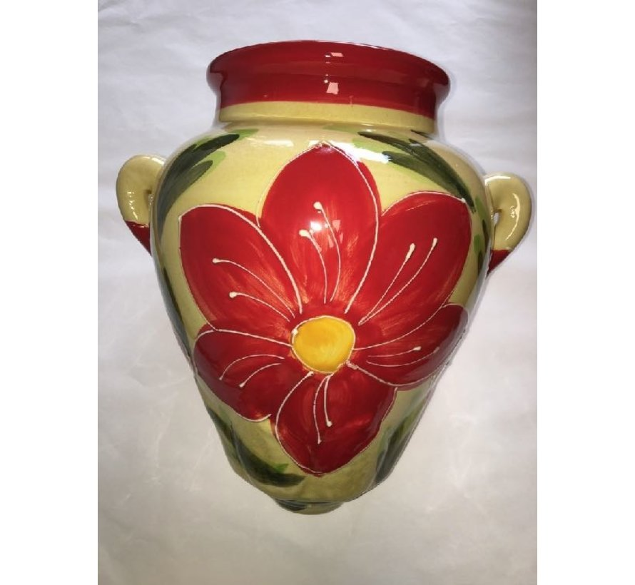 Hangpot Flor Roja