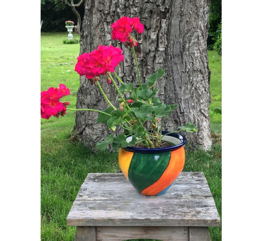 Spanish Flower Pot Mediterraneo