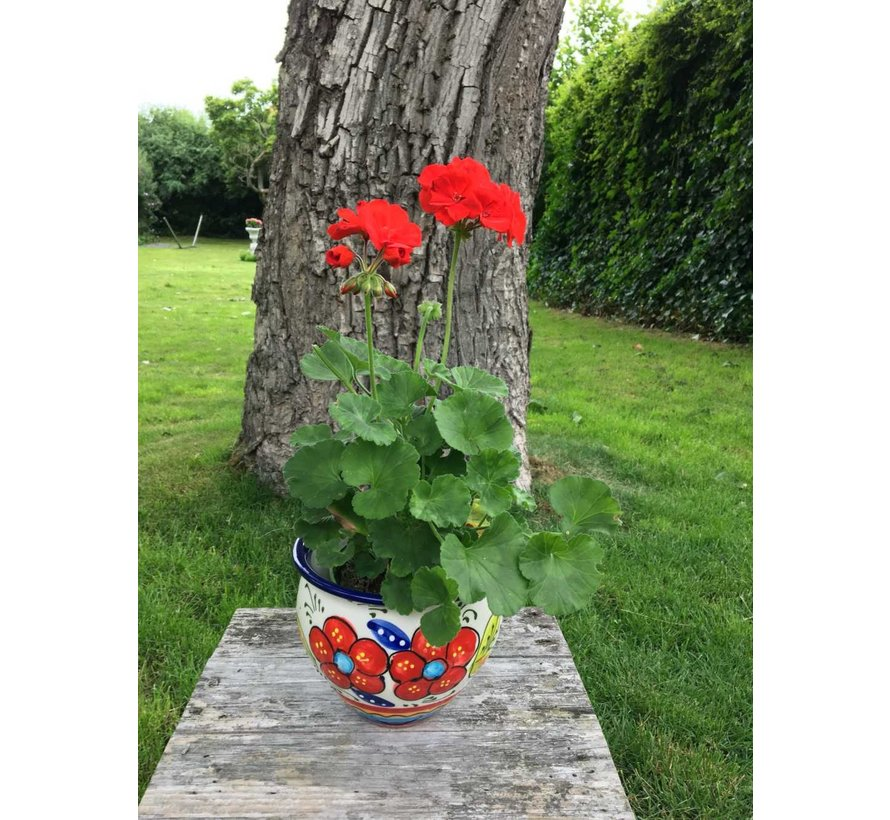 Spanish Flower Pot Flor Mogan