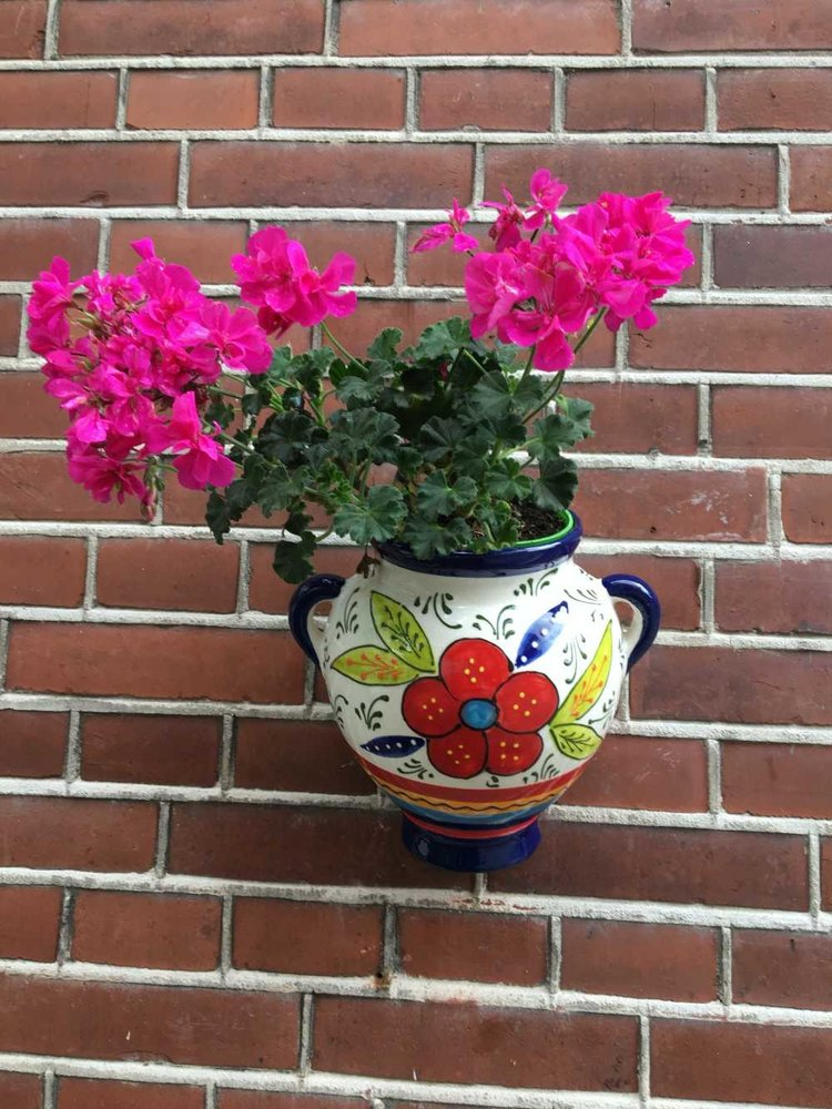 Hanging Flower Pot Flor Mogan