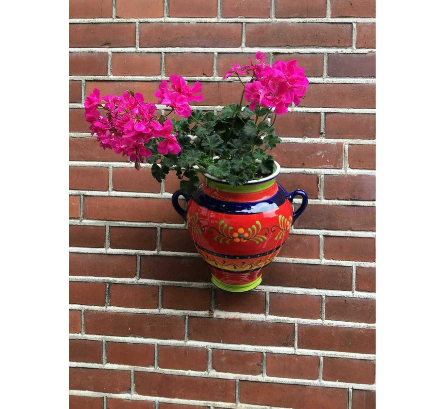 Hanging Flower Pot Florencia Azul