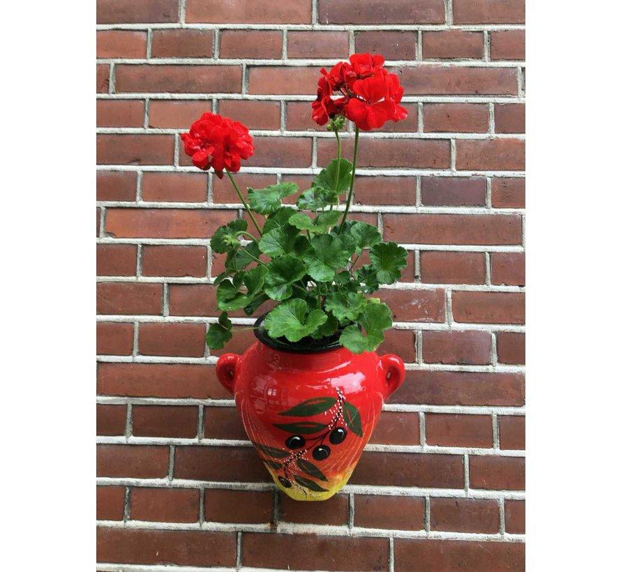 Hanging Flower Pot Rama Negra