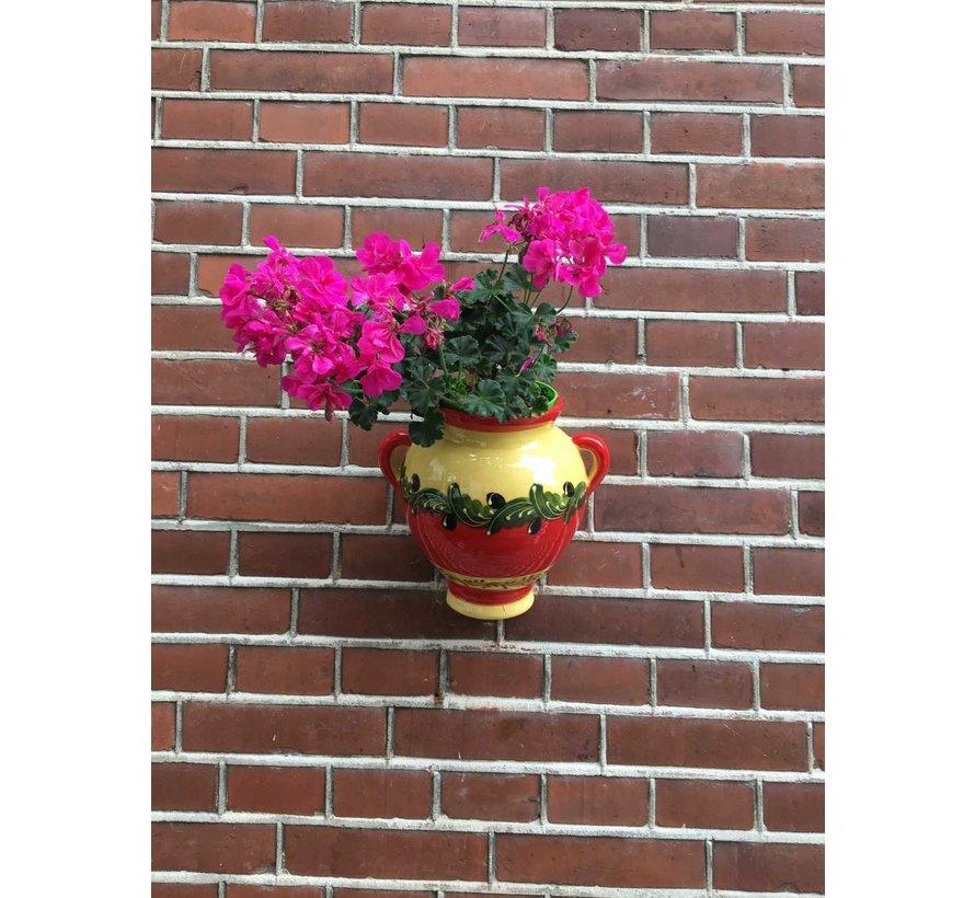 Hanging Flower Pot Rojo Olivas