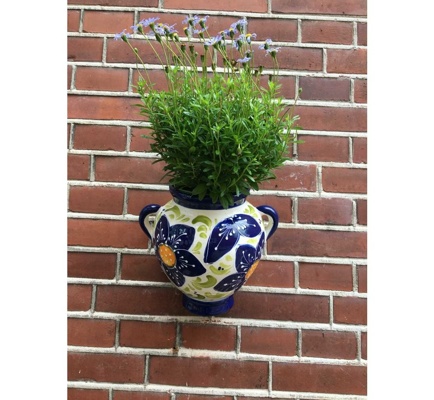 Hanging Flower Pot Azul