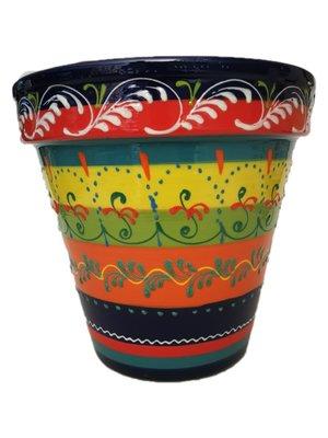 Spanish Flower Pot Arabesco
