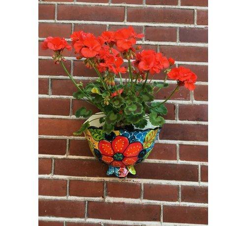 Hanging Flower Pot Craquele Small