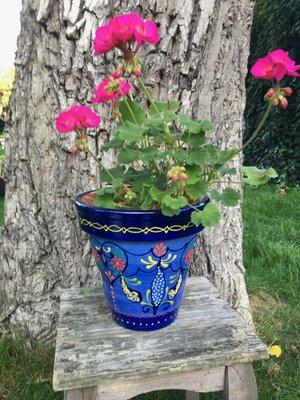 Spanish Flower Pot Bambu