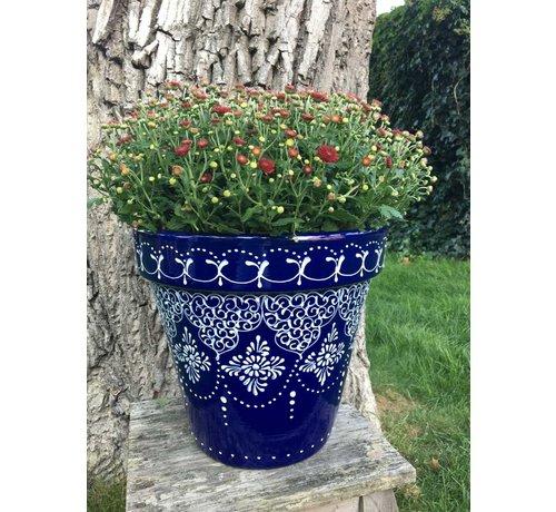 Spaanse Bloempot Crochet