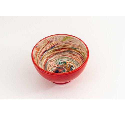 Bowl Ceramic Aguas Red ∅ 14 cm
