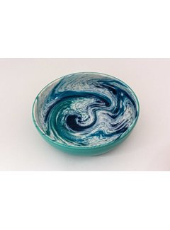 Saladeschaal Keramiek Aguas Turquoise 23 cm