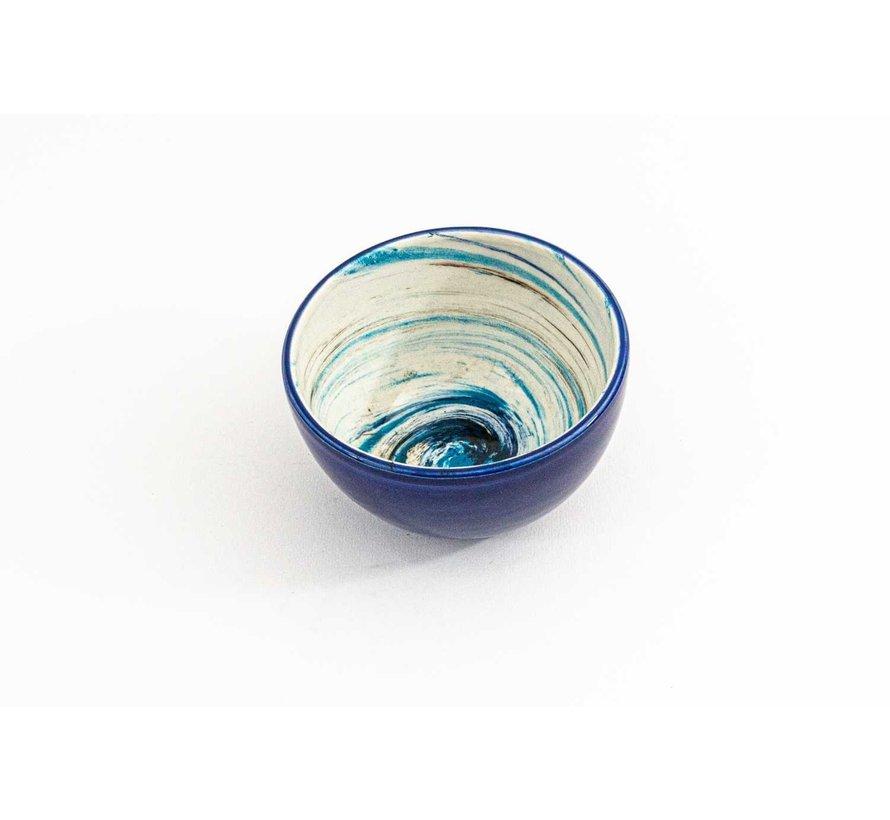 Bowl Ceramic Aguas Blue ∅ 11 cm