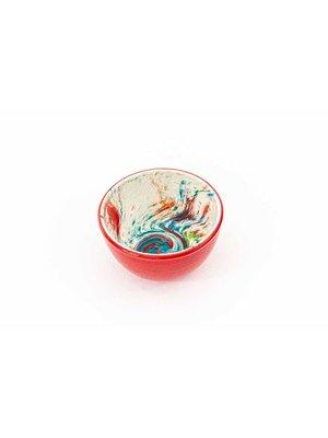 Bowl Ceramic Aguas Red ∅ 11 cm