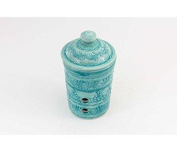 Garlic Pot Ceramic Majorica