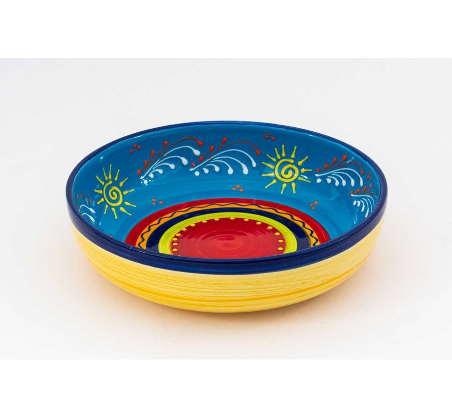 Salad Bowl Ceramic Sol 27 cm