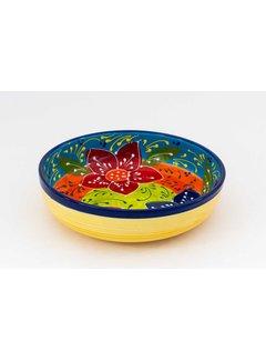 Salad Bowl Ceramic Canarias 27 cm