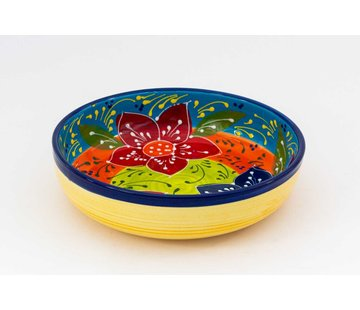 Salad Bowl Ceramic Canarias 27 cm