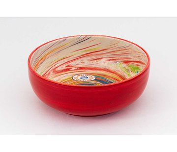Saladeschaal Keramiek Aguas Rood 24 cm