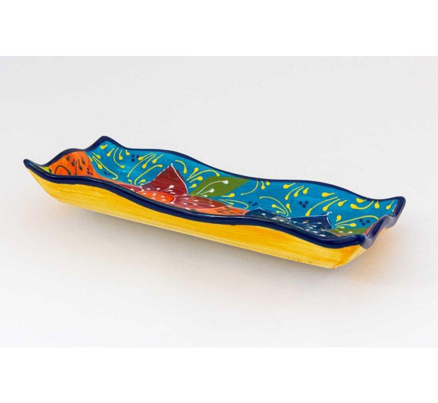 Serveerschaal Keramiek Canarias 32 cm