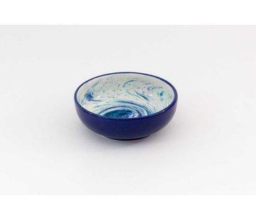 Saladeschaal Keramiek Aguas Blauw 15 cm