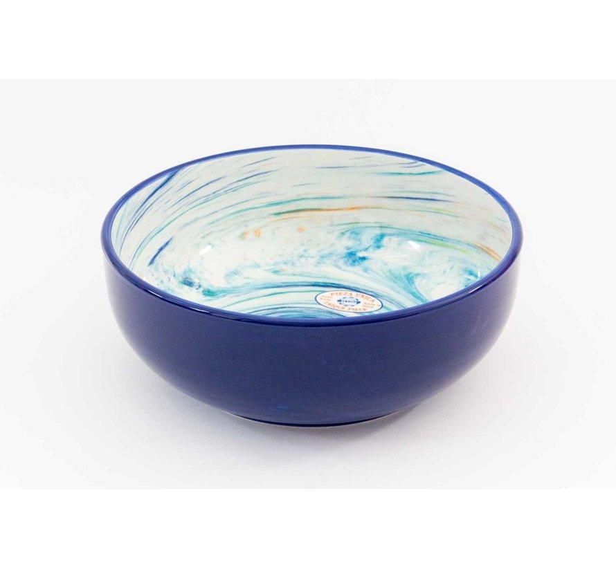 Saladeschaal Keramiek Aguas Blauw 28 cm