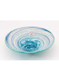 Serveerschaal Keramiek Aguas Turquoise ∅ 30 cm