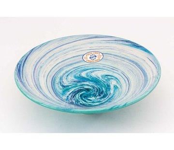 Serving Bowl Ceramic Aguas Turquoise ∅ 30 cm