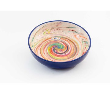 Saladeschaal Keramiek Aguas Blauw 31 cm