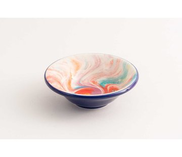 Tapas Dish Ceramic Aguas Blue 11 cm