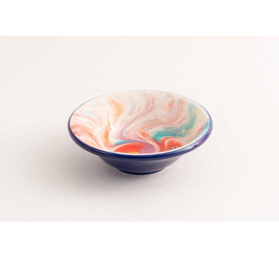 Tapas Dish Ceramic Aguas Blue 11 cm