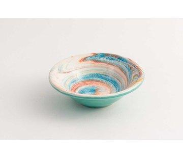 Tapas Dish Ceramic Aguas Turquoise 11 cm