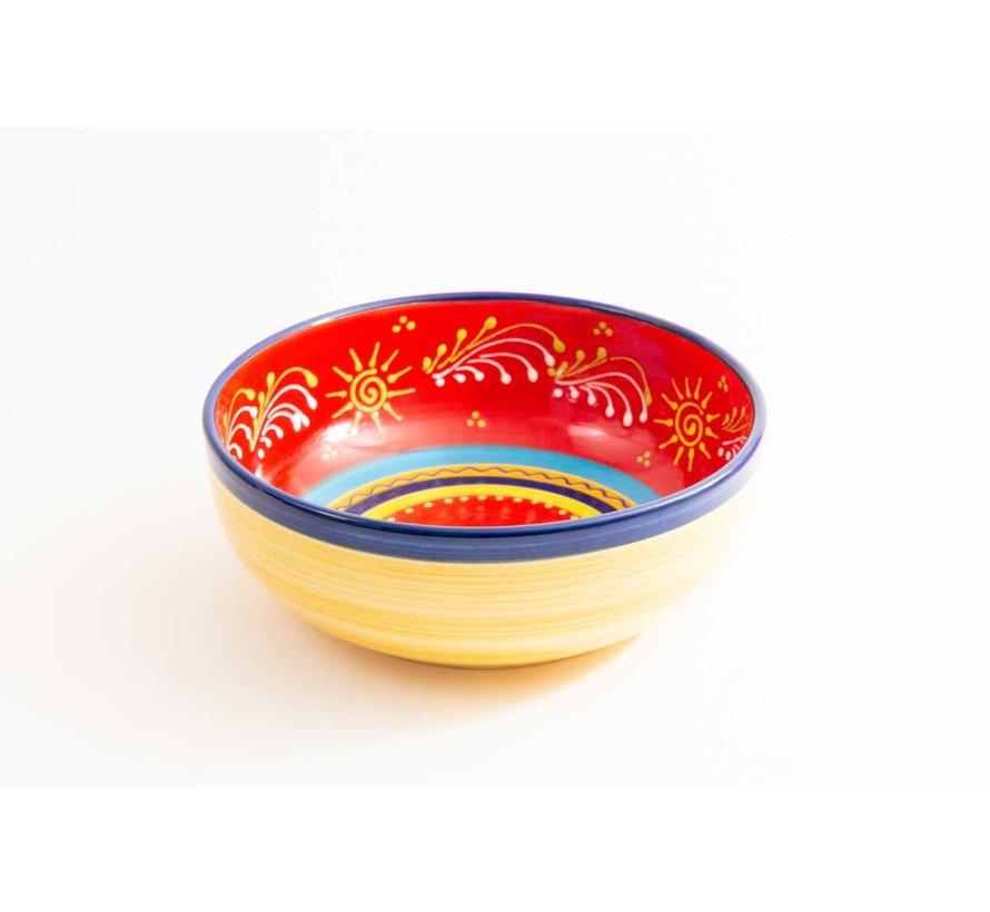 Salad Bowl Ceramic Sol 28 cm