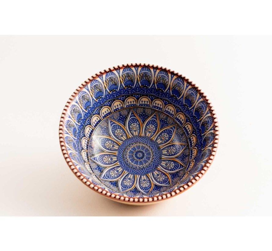 Bowl Cenefas Azul