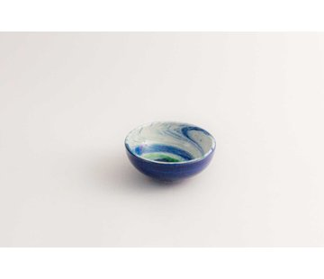 Tapas Dish Ceramic Aguas Blue 10 cm