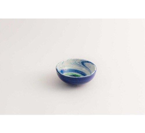 Tapasschaaltje Keramiek Aguas Blauw 10 cm