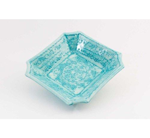 Square Dish Ceramic Majorica 25 cm