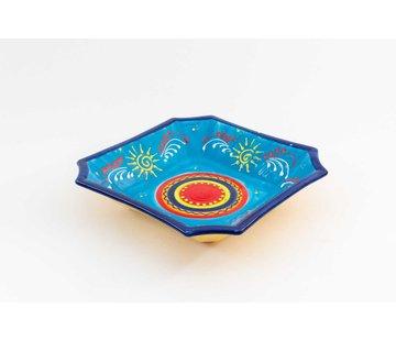 Square Dish Ceramic Sol 25 cm