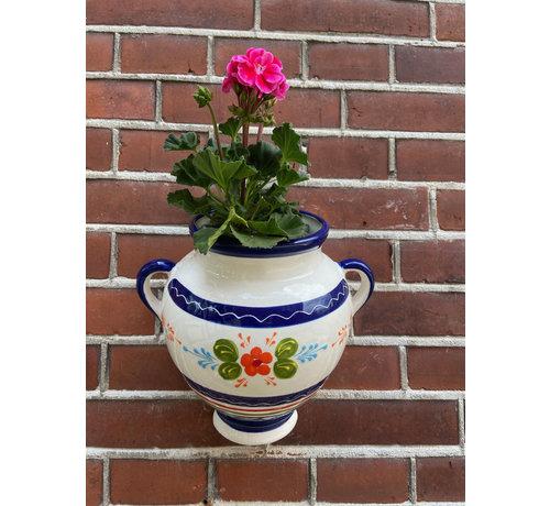 Hangpot Azul Flor