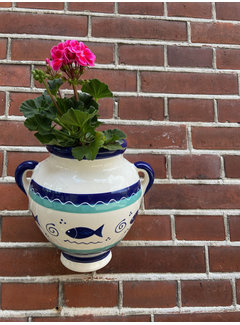Hangpot Peces Azul