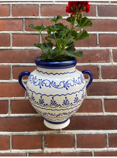 Hanging Flower Pot Azul Raya