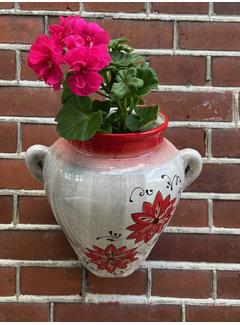 Hanging Flower Pot Flor Gris