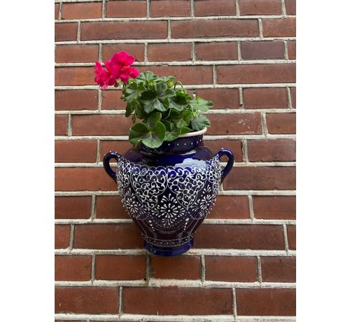 Hanging Flower Pot Crochet