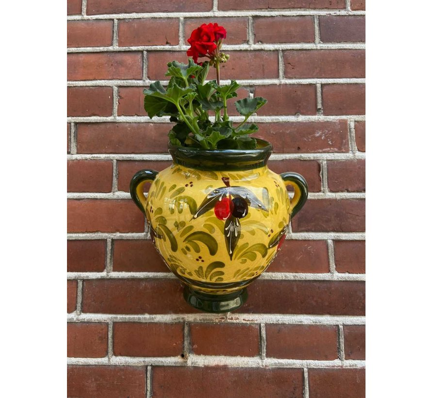 Hanging Flower Pot Olivas Verde