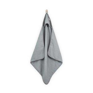 Jollein Jollein badcape hydrofiel Mini dots | Mist grey