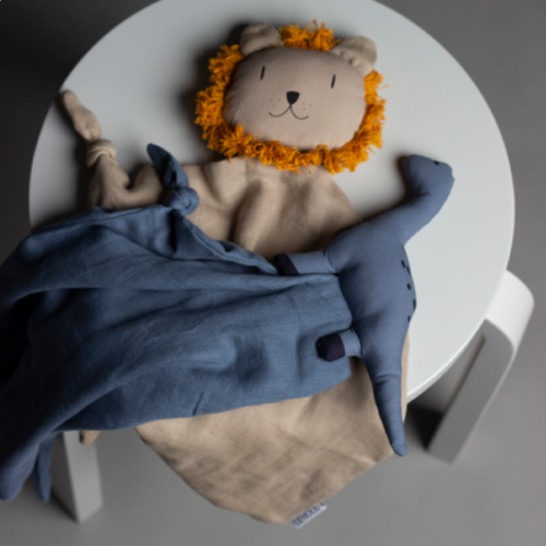 Liewood Liewood knuffeldoek Agnete | Lion Stone Beige