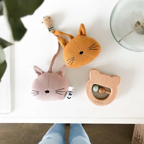 Liewood Liewood babyspeelgoed Rosa   Cat Grey Melange