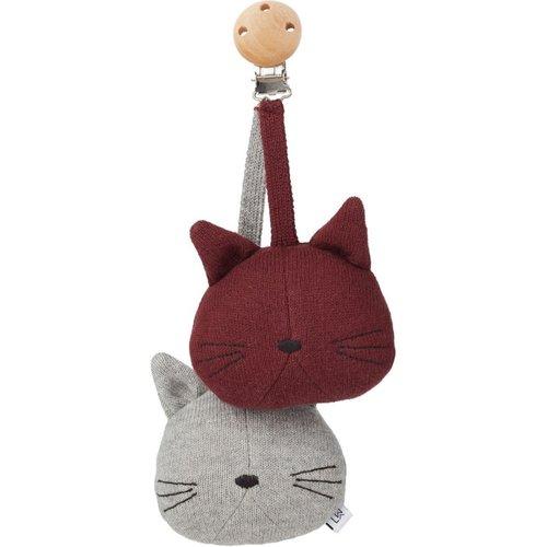 Liewood Liewood babyspeelgoed Rosa | Cat Grey Melange