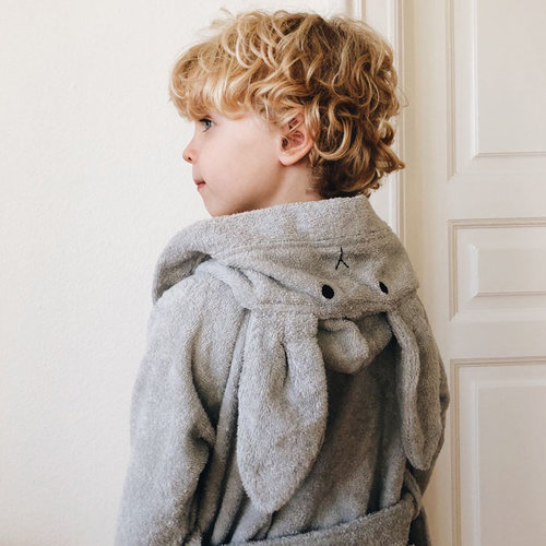Liewood Liewood badjas Lily | Dumbo Grey