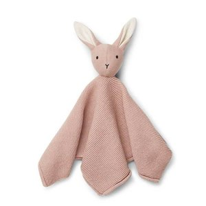 Liewood Liewood knuffeldoek Milo | Rabbit rose